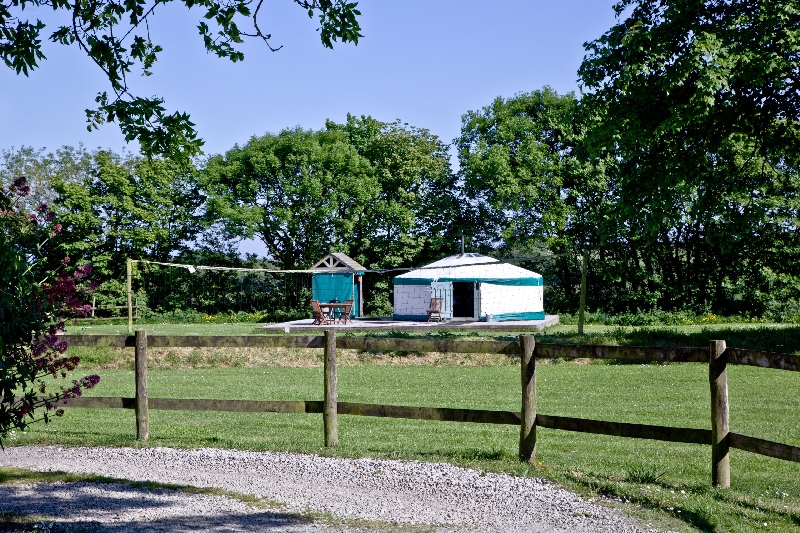 Click here for more about Yurt 2 - East Thorne