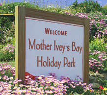Mother Ivey's Bay Holiday Park, Padstow,Cornwall,England
