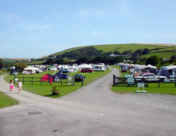 Lobb Fields Caravan and Camping Park, Braunton,Devon,England