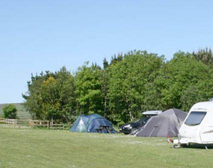 Penderleath Caravan and Camping Park, St. Ives,Cornwall,England