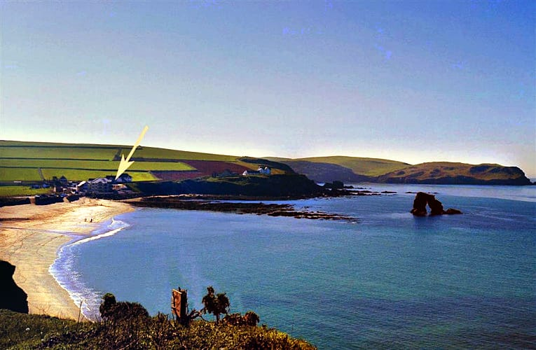 2 Thurlestone Rock an English holiday cottage for 6 in ,