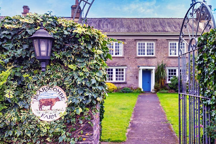 Bearscombe Farm West Wing an English holiday cottage for 6 in ,