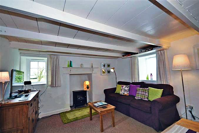 Trethenal Cottage is located in Truro