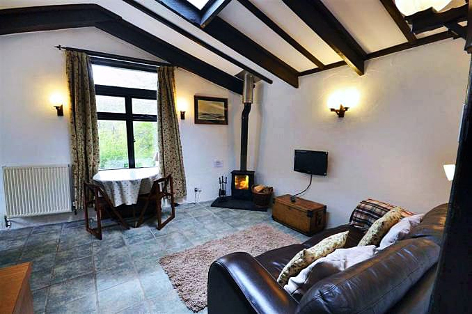 Vean Cottage an English holiday cottage for 2 in ,